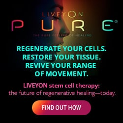 Live Stem Cell Therapy Provider Website